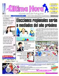 Edici³n 19 10 2016 by Ultima Hora El primer diario de Portuguesa