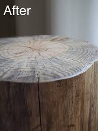 Make A Small End Table by Best 25 Log Table Ideas On Pinterest How To Use Log Log