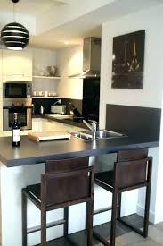 cuisine basse table avec tabouret encastrable table de cuisine avec tabouret table