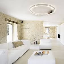 s luce pro led wand deckenleuchte ring l dimmbar ø 80cm wohnzimmer ring deckenle wandle yatego