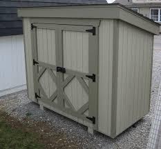 Amish Small 5 5 x 6 ft Storage Shed Panelized Kit