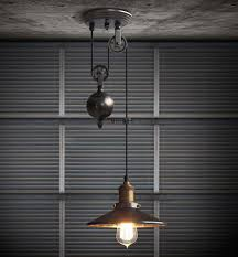 rise and fall pendant ls kitchen room contemporary hanging
