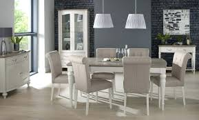 Padded Dining Room Chairs Interesting Design Grey Fabric Mid Chair Covers