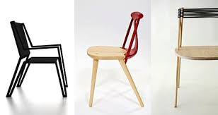 markantes design moderner holz esszimmerstühle freshouse
