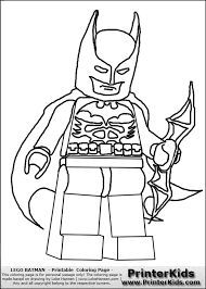 Lego Batman Coloring Sheets In Pages