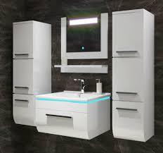 homeline badmöbel set danny badmöbel set ganz in hochglanz weiß badezimmermöbel badmöbel komplett bad 60 cm vormontiert 6 tlg kaufen
