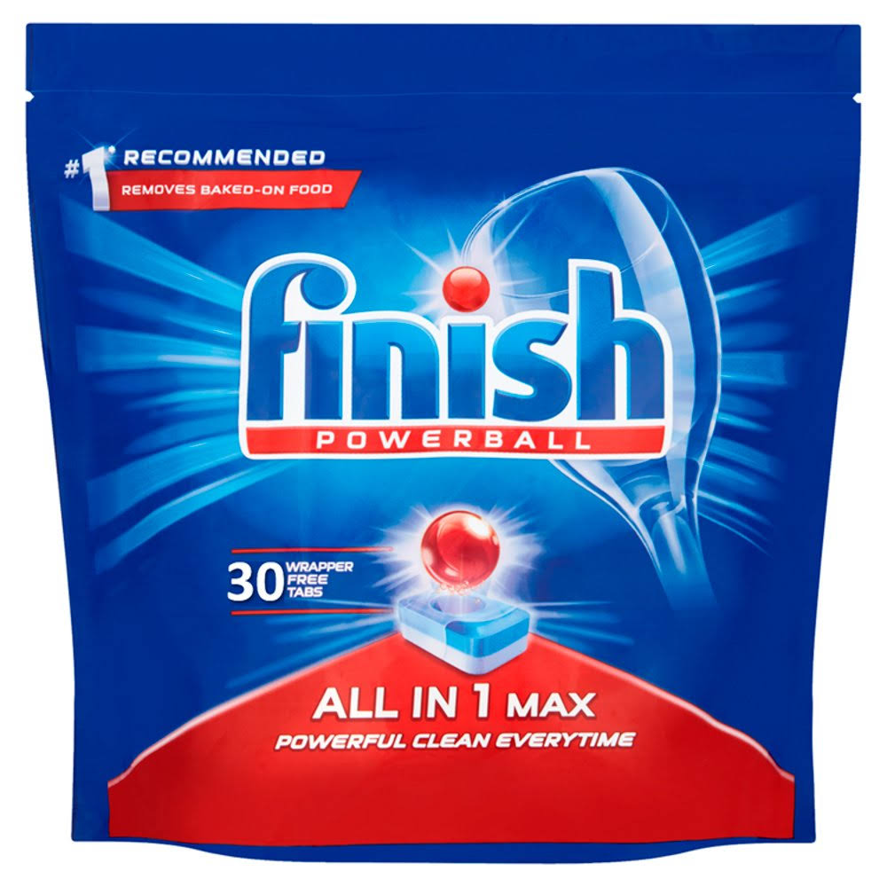 Finish All in 1 Max Dishwasher Tablets X30