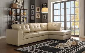 Taupe Sofa Living Room Ideas by Homelegance Springer Sectional Sofa Taupe Bonded Leather Match