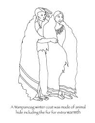 Clothes Coloring Pages Winter Coat Native Sheets