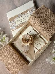 Wedding Invitation Boxes With Captivating Unique