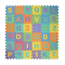 and Numbers Soft Foam Playmat