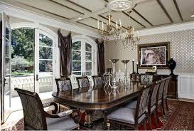 Victorian Gothic Home Decor Formal Dining Room Revival