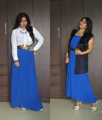 ootd maxi skirt two ways new love makeup indian beauty blog