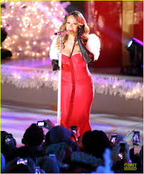 Nbc Rockefeller Christmas Tree Lighting 2014 by Mariah Carey Rockefeller Center Christmas Tree Lighting 2013