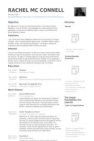 Server Bartender Resume Samples Work Experience