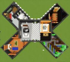 Minecraft House Floor Designs by Minecraft Floorplan Small Farmhouse By Coltcoyote On Deviantart