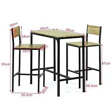 set de cuisine dimension table cuisine top sobuysobuy ogt set de table chaises