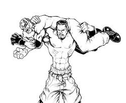Wwe Raw Coloring Pages 13 WWE