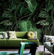 grün pflanzen wandbild wand papier 3d für wohnzimmer wand kunst dekor malerei tapete wände foto druck tapete wandmalereien