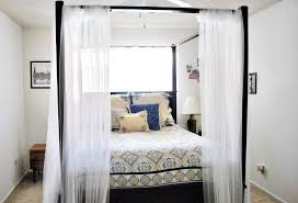 awesome canopy bed curtain panels with curtains walmart tikspor