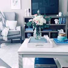 10 Traditional Living Room D 233 Cor Ideas by Grey White Blue Living Room In Apartment Decor Homegoods Tv