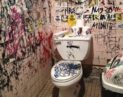 The Toilet At Welcome To Johnsons On Lower East Side For Ian MacAllens Blog