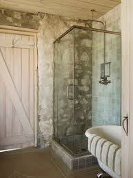 Rustic Bathtub Tile Surround by Rustic Bath Industrial Design Bathroom