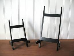 Decorative Floor Easel Hobby Lobby by 6 9 Wood Shaker Style Easel Table Top Black Stands Decorative