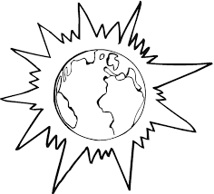Download Coloring Pages Earth Free Printable For Kids Drawing