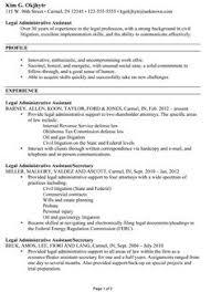 Free Administrative Assistant Resume Sample Template Example CV Formal Design Senior