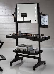 Furniture Portable Makeup Table With Lighted Mirror And Handy With