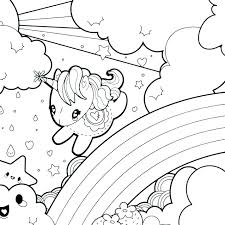 Coloring Pages Of Rainbow Dash Page A Printable