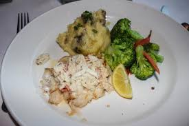 asticot blanc dans la cuisine grilled fish topped with crab and ver blanc sauce gluten free