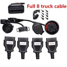 100 Pro Trucks Plus Truck Cables CDP OBD2 OBDII Diagnostic Tool Connect Cable