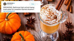 Pumpkin Spice Frappe Nutrition by Pumpkin Spice Latte