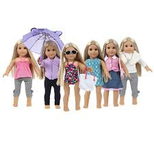 Simple Life Small Dresses Collection For American Girl Dolls My