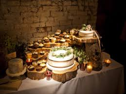 Tree Decorating Ideas Rustic Wedding Cake Table Decorations