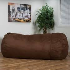 Larson Faux Suede 8 Foot Lounge Beanbag Chair By Christopher Knight Home