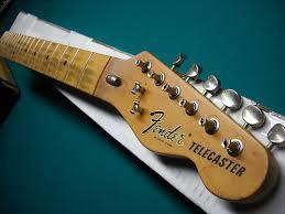 Fender Lic Telecaster Nitro Relic Tele Neck 70s 725