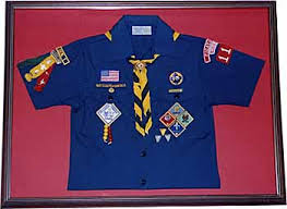 Cub Scout Committee Chair Patch Placement by Preserving The Past Enriching The Future
