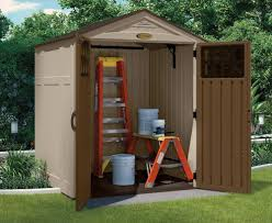 Suncast Outdoor Vertical Storage Shed by Suncast 6 X 5 Everett Storage Shed Walmart Com