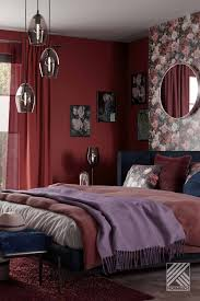 coming home hornbach rotes schlafzimmer wohnung