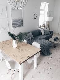 wohn und esszimmer im scandinavian look wohnung
