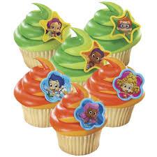 bubble guppies cupcake rings 8