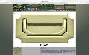 Drexel Heritage Dresser Handles by Vintage Replacement Campaign Hardware Phoenix Restoration