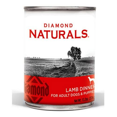 Diamond Naturals Lamb Dinner Dog Food, 13.2-oz.
