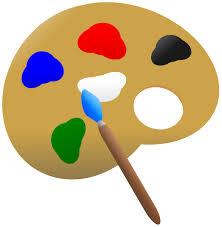 Paint Palette Clip Art