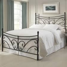Walmart Headboard Queen Bed by Bedroom Modern And Metropolitan Queen Metal Headboard