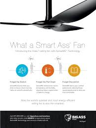 Hvls Ceiling Fans Residential by Haiku With Smart Senseme Technology From Big Fans Big