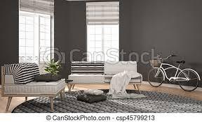 teppich wohnzimmer minimalist sessel modern sofa